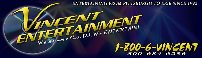 Welcome to Vincent Entertainment